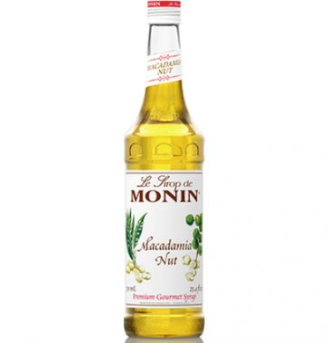 Syrup monin macadamia nut 700ml